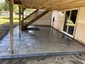 concrete patios, liverpool patios
