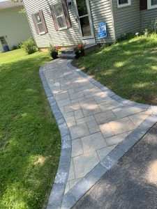 concrete patios, liverpool patios, paver walkwasy, pathways